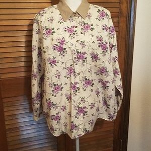 Cute ladies shirt by Cabin Creek Size 20W